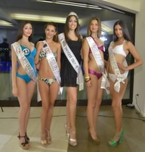 Miss Universo Italy 2012 Grazia Pinto e le vincitrici