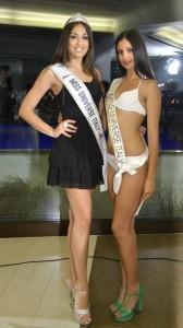 Miss universo Grazia Pinto e Giusi Napoli