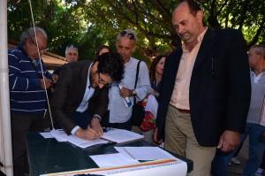 """""""Felice tra la gente"""": inaugurato oggi pomeriggio il gazebo di Piazza Cairoli"""