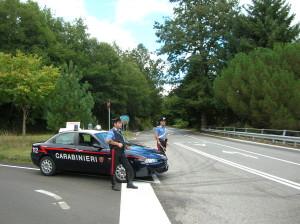 carabinieri posto blocco estivo