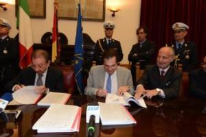 Firmato a Palazzo Zanca il protocollo per la riqualificazione del Waterfront Zona Falcata-Tremestieri