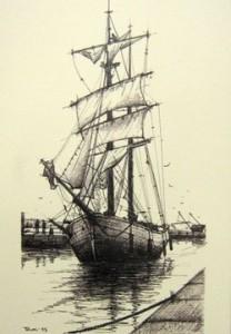 veliero - disegno