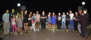 Foto di gruppo dei concorrenti