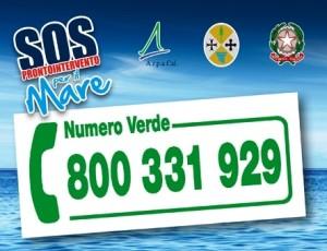 Sul sito web dell'Arpacal è Online la mappa web di SOS Mare
