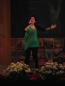 Ramona Parisse canta