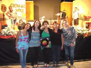 Ramona Parisse  con altri vincitori