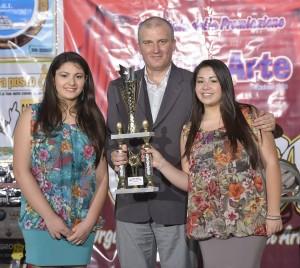 Rodrigo premia le Ferrara Sisters (Susanna e Serena)