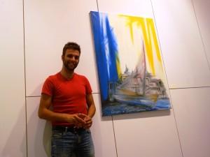 """Jam Painting al Monte di Pietà: i quadri di Fabio Alibrandi inno al """"fare"""""""