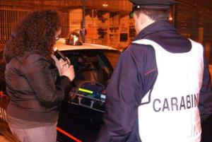 Borgia Squillace SS106. Carabinieri: controlli notturni contro la guida in stato di ebrezza.