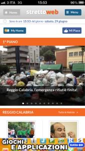 E' nata la prima APP per iPhone di news e informazione per Messina e Reggio Calabria, completamente gratuita!