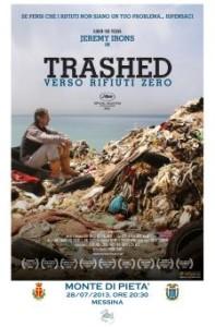 """Il film documentario """"Trashed"""". Verso i rifiuti zero domenica al Monte di Pietà."""