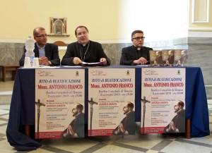 Evento della beatificazione del servo di Dio Antonio Franco.