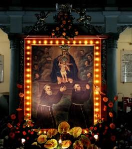 Oggi a Zafferia (Me) festa di S. maria Odigitria, patrona del villaggio.