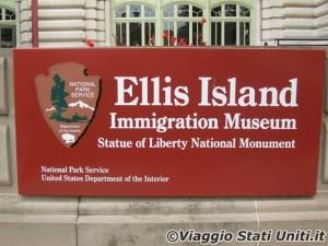 Ellis Island Museo dell'Immigrazione New York