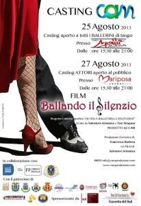 """Messina. Casting aperti per il film """"Ballando il silenzio""""."""