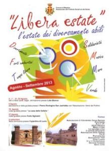 """Messina. Lunedi 19  proseguira' il progetto """"Libera estate""""."""