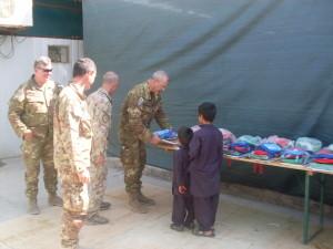 Afghanistan, i figli dei lavoratori locali ospitati dai militari italiani a Camp Arena.