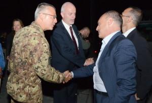 Afghanistan: il Vice Ministro degli Esteri, Onorevole Lapo Pistelli, visita il Regional Command West di Herat.