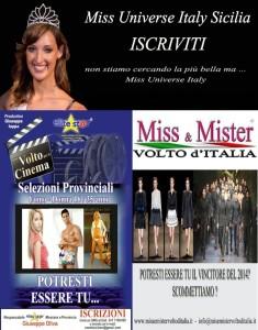 Miss Universe,Volto d'Italia, Volto Per Il Cinema