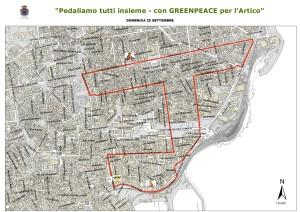 """Catania. """" Pedaliamo tutti insieme, con Greenpeace per l'Artico"""" domenica in bicicletta"""