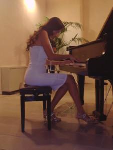 """Milazzo. """"Contemporary Piano"""" di Natalie Andaloro."""
