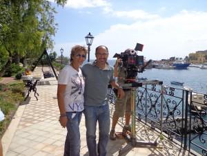 Santina Cantone  e Samad Zarmandili. Set Ognina