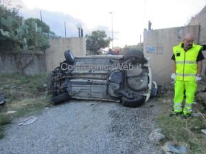 auto austrada incidente