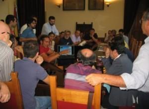 Incontro stamani a Palazzo Zanca tra l'amministrazione comunale e il Movimento 5 Stelle