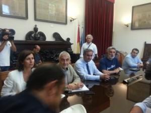 Attraversamento dello Stretto: l'amministrazione comunale ha incontrato una delegazione delle OO.SS. degli autotrasportatori.