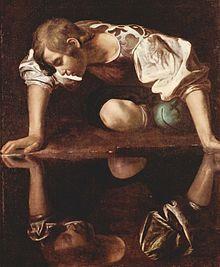 Caravaggio NARCISO (1594-96)