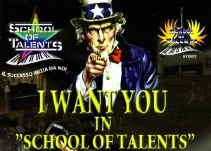 """Casting """"Super Menti"""" alla """"Shool of Talents"""""""