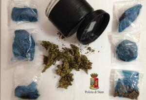 Taurianova (Rc). Polizia: due arresti per possesso di sostanza stupefacente del tipo marijuana.