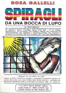 copertina libro SPIRAGLI 1992