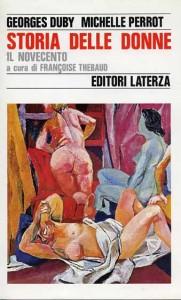 copertina libro STORIA DELLE DONNE 1992 LA TERZA