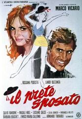 manifesto IL PRETE SPOSATO film 1971