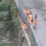 Ultimazione lavori barriere protettive.