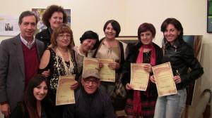 Carmela La Malfa e pittori partecipanti