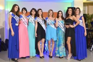 """Finale Regionale di """"Miss Regina d'Europa""""."""