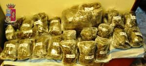 Marijuana sequestrata il 26.11