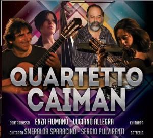 """Sabato 16 a Zafferia, Chiesa S. Nicolò di Bari, concerto per la pace con il """"Quartetto Caiman"""""""