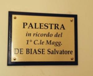 Cerimonia Militare Solenne in memoria del Primo Caporal Maggiore Salvatore De Biase