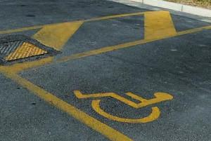 invalidi parcheggio
