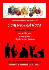 """Teatro Badolato (Cz): domenica 1 dicembre va in scena la favola jazz """"Schiaccianoci"""""""