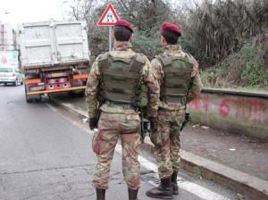 strade sicure militari