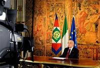 Dichiarazione del Presidente Letta sul messaggio di fine anno del Capo dello Stato