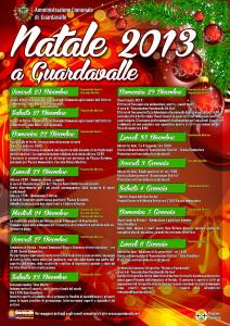 Guardavalle (Cz): l'amministrazione comunale rende noto le date degli eventi natalizi.