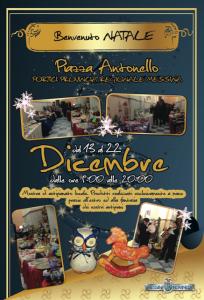 """""""Benvenuto Natale"""", alla Loggia dell'Arte dieci giorni con l'artigianato messinese"""