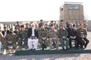 3. Autorità presenti alla cerimonia di cessione di Fob La Marmora a Shindand
