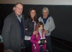 Alberto Moroni, Ginevra Speranza, Katiuscia Ciancio e staff del film