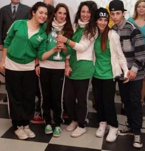 Ballerini vincitori primi classificati